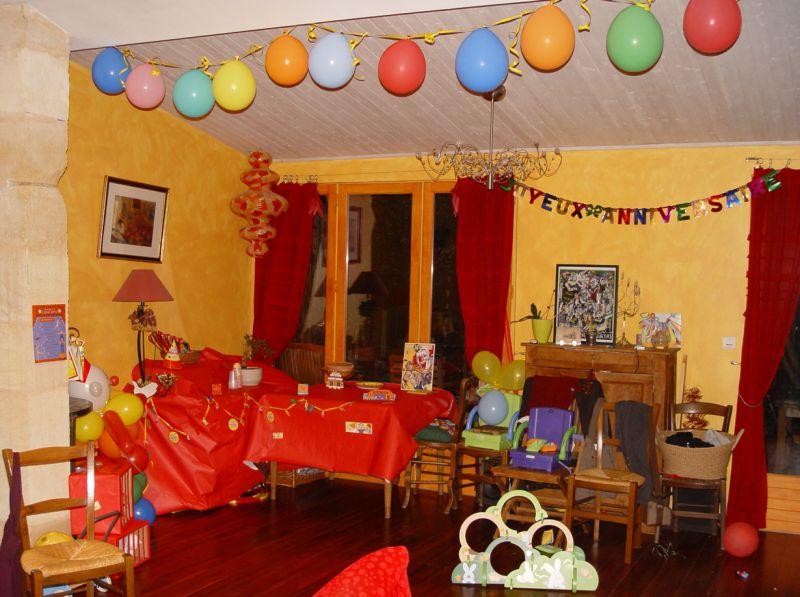 La circus party ou un anniversaire r ussi pour 10 enfants entre 3 et 4 ans at ch agathe the blues - Jeux de chambre een decorer ...