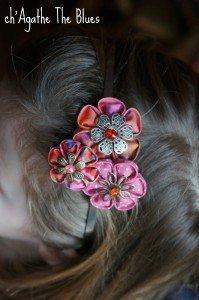 Serre-tête, bijou de cheveux pour petite fille... dans bijoux en couleur... DSC00047-199x300